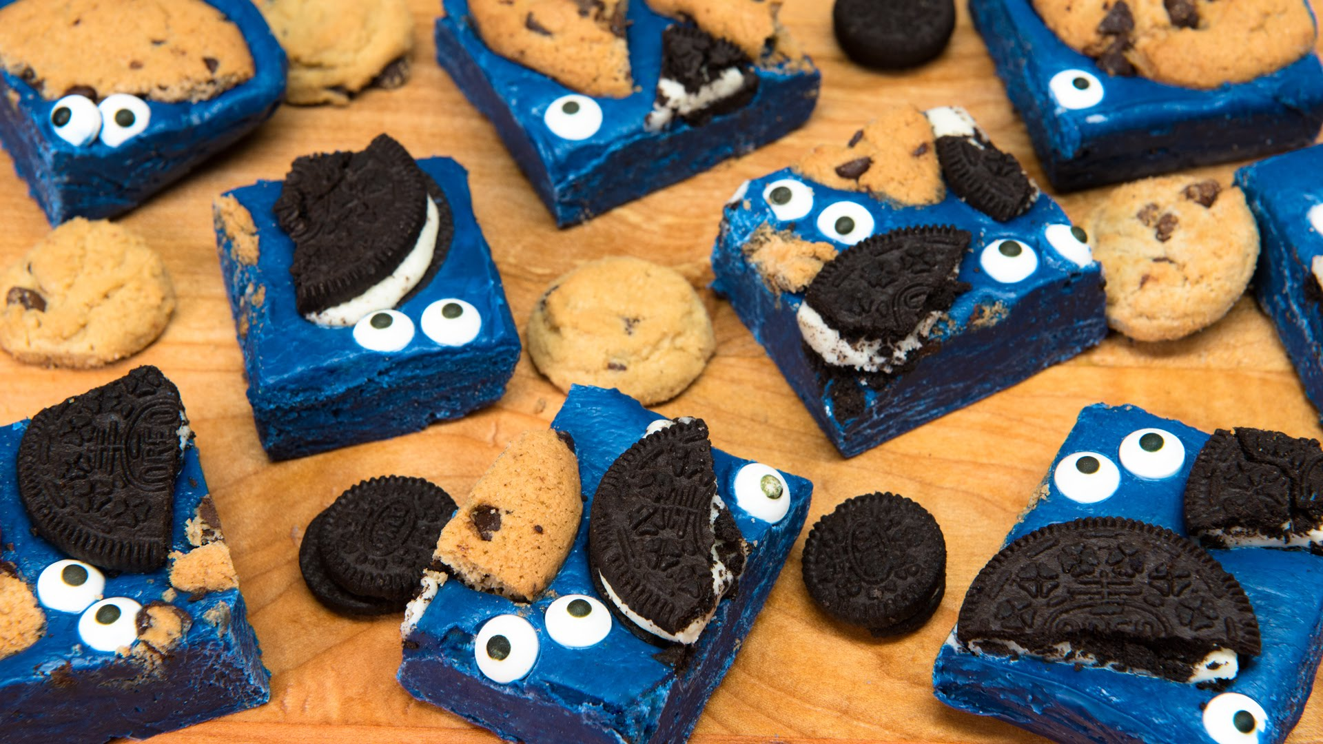 She Melts Some Chocolate And Creates A Cookie Monster Fan Favorite