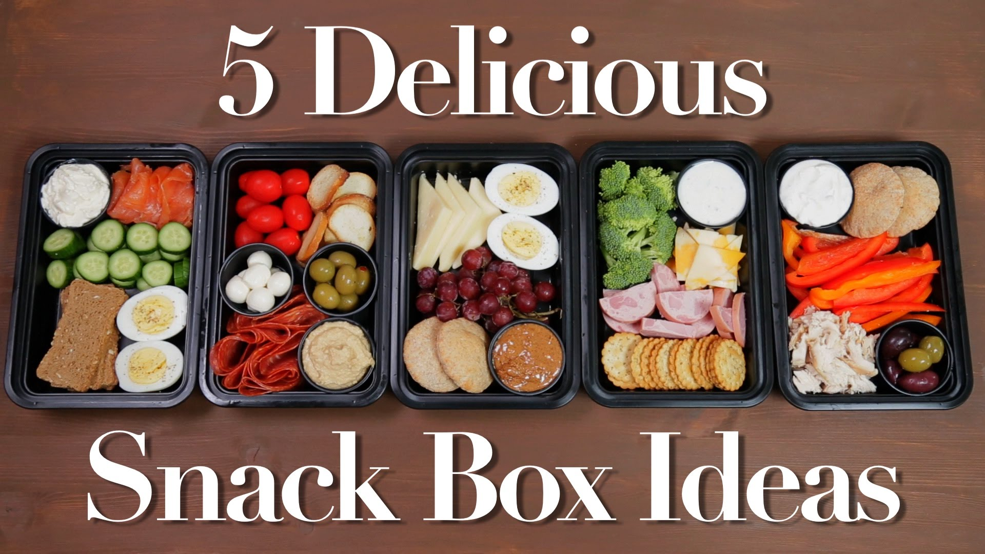 These Snack Box Ideas Will Solve Your Lunch Dilemmas
