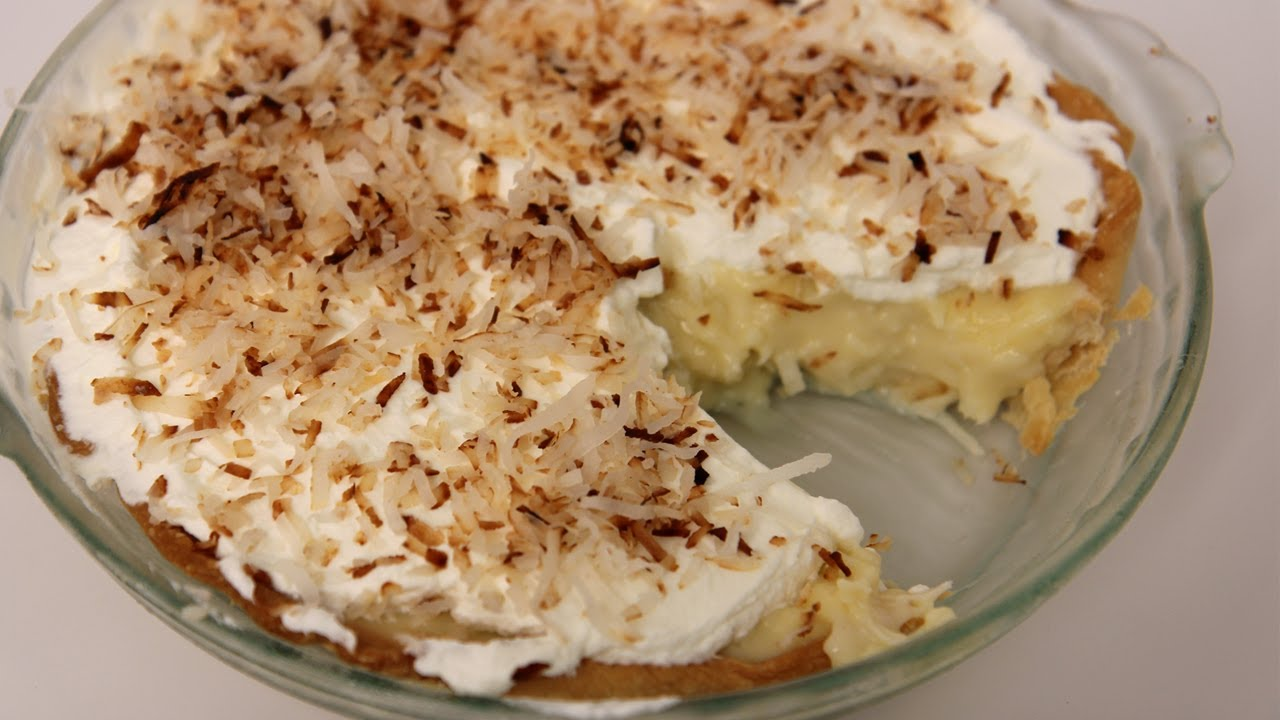 Try This Extreme Coconut Flavor In This Coconut Cream Pie
