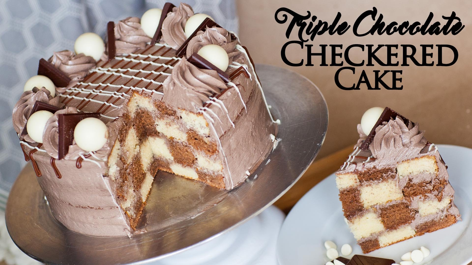 The Inside Of This Triple Chocolate Cake Is As Amazing As The Outside