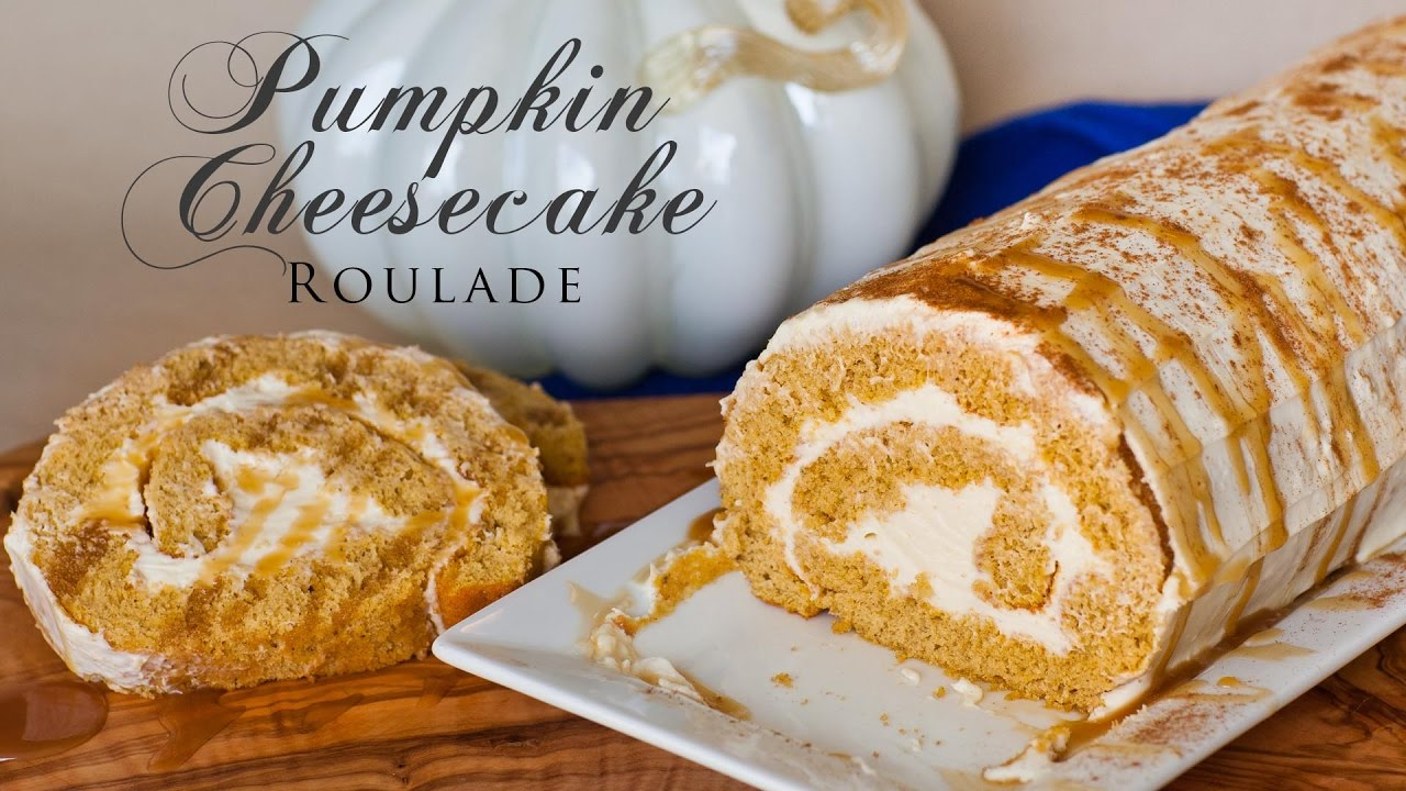 This Pumpkin Cheesecake Roulade Will Satisfy All Your Fall Cravings