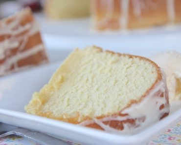 A Pound Cake With 5 Different Flavors