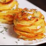 Find Out Why This Parmesan Potato Stack Recipe Has More Than 4 Million Views