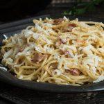 Transform Ordinary Spaghetti Into An Incredible Carbonara Dish
