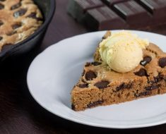 See How She Uses A Skillet To Create This Chocolate Chip Cookie Recipe