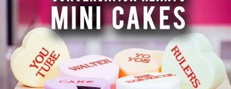 She Turns A Insanely Popular Valentine Candy Into A Gorgeous Cake